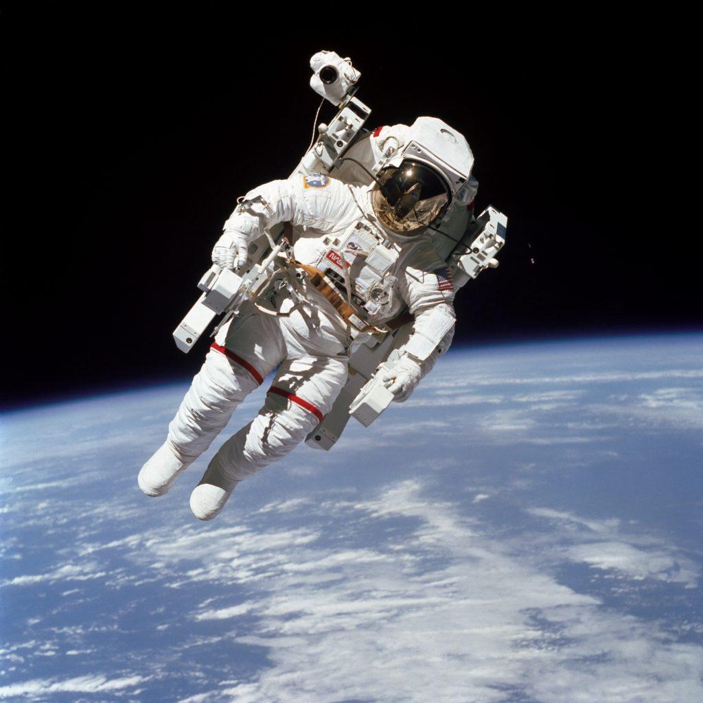 Nasa space suit clipart
